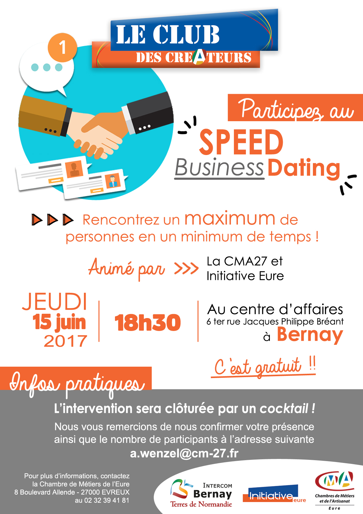 Speed dating evreux